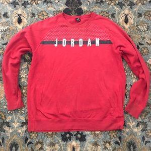 Air Jordan crewneck sweatshirt